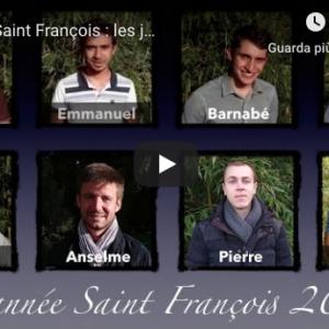 Rencontrez l'année Saint François